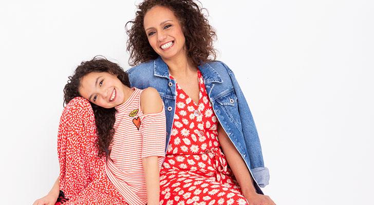 Moeder & dochter modeshoot: Hoeda & Sherine