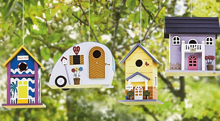 Doei vogelhuisje, hallo vogelvilla: verwen de vogels in je tuin