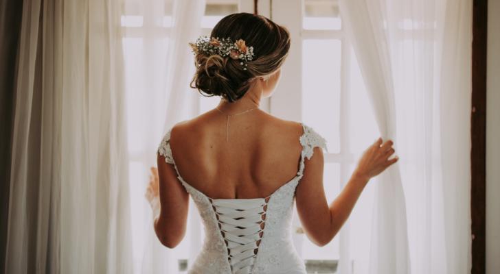 Oproep: ik viel tientallen kilo's af voor mijn bruidsjurk