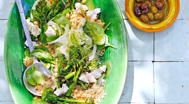 couscous met gegrilde bimi