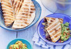 quesadilla's met guacamole