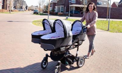 Sientje: 'Hoe kom je met drie baby's een winkel in zonder kinderwagen?'