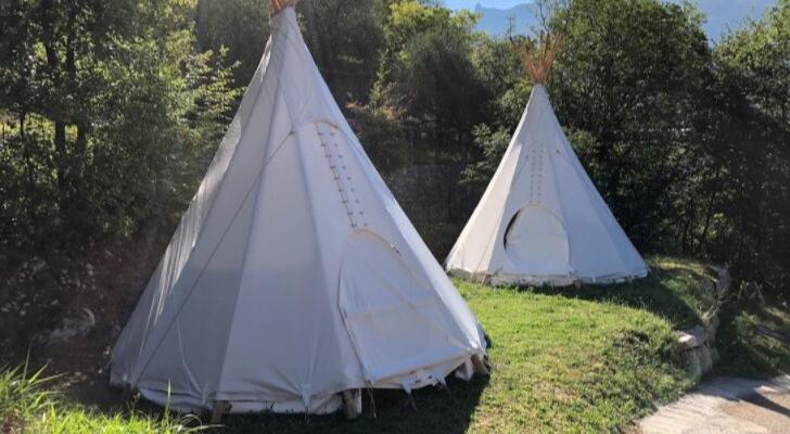 Slaap in een luxe tipi in Trentino (boek met Vriendin-korting)