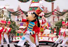 Wie gun jij een magisch kerstweekend in Disneyland Paris?