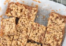 Recept voor appel-speculaas kruimelcake van Laura's bakery