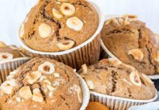 Recept voor abrikoos-hazelnoot muffins van Laura's Bakery