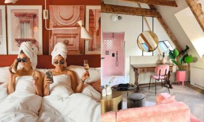 Dit knalroze hotel in Utrecht is perfect voor een vriendinnenweekend